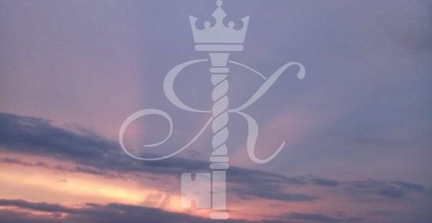 закат на море в Светлогорске