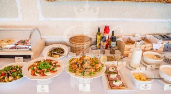 Отель «Гранд Палас» блюда ресторана