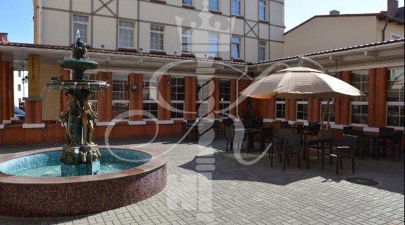 Отель «Самбия» внутренний двор