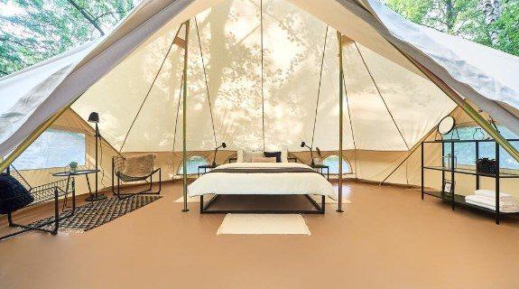 Глемпинг «Поляна» палатка