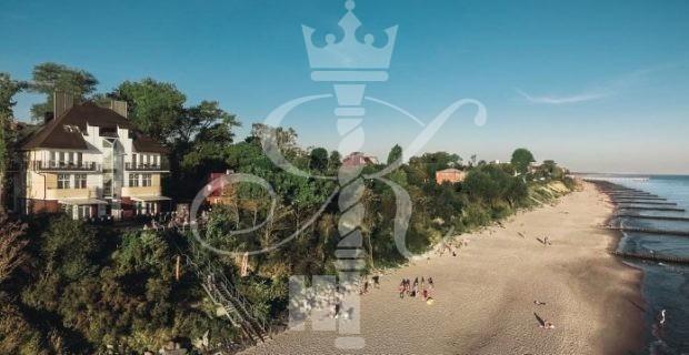 Отель «Априори» вид с пляжем