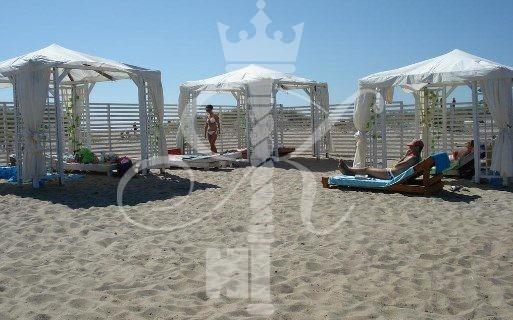 Отель «Акватория» пляж