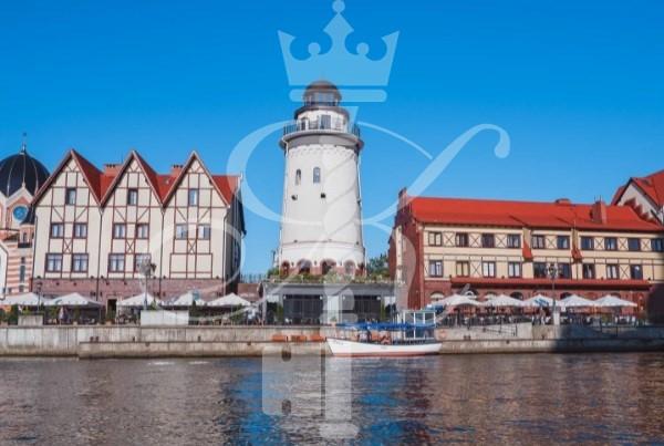 маяк в Рыбной Деревне