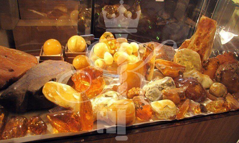 фото экспонаты музея янтаря
