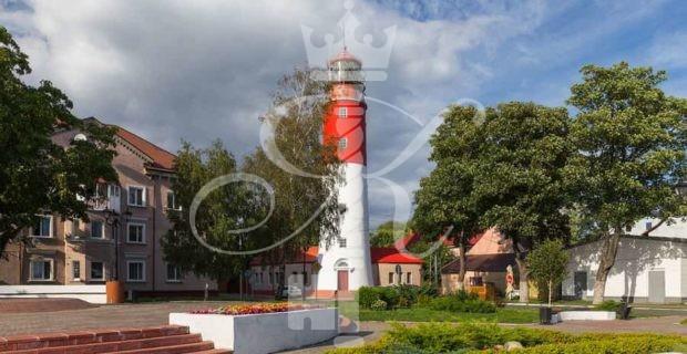 фото маяк в балтийске